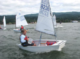 learn to sail in Cascade Locks